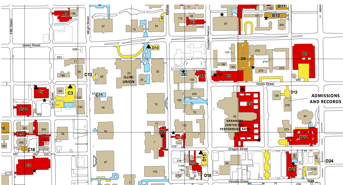 Area Maps Parking Guide For Tango Locations