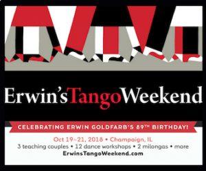 Erwin's Tango Weekend Oct 19-21